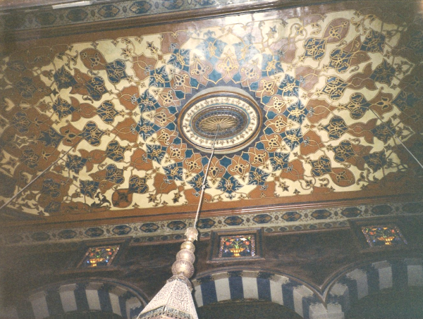 Ceiling with Ottoman-Arabesque-Turkish details