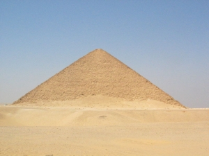 Snefru's Red Pyramid (courtesy of Wikimedia Commons)