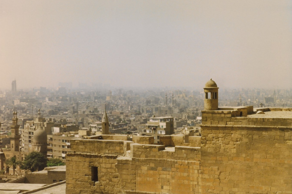Overlooking Cairo from the Citadel