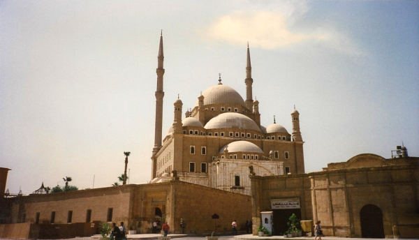 Entrance to The Citadel with the Mosque of Muhammad Ali