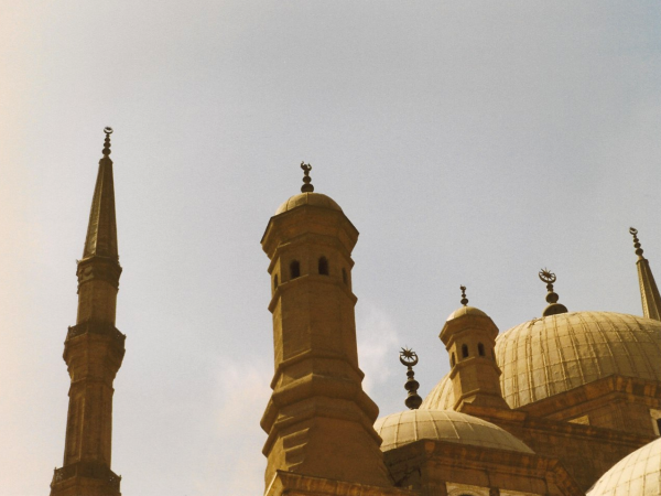 Mosque of Muhammad Ali Spires and Domes