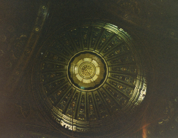 Under the Central Dome of the Prayer Room