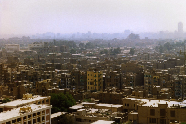 A view of Cairo from the Citadel of Salah al-Din