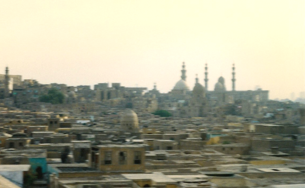 Mosque of Sultan Hassan from the Citadel