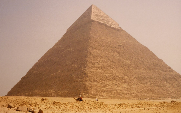 The majestic Pyramid of Pharaoh Khafre