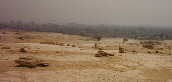 Cairo as seen from the Giza Plateau