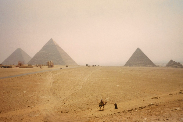 The Giza Pyramids (Photo by