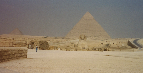 The Great Sphinx and Pyramids