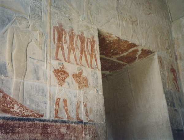 Entrance to Meriteti's tomb
