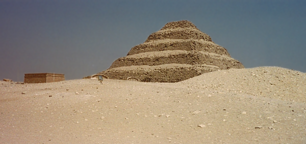 Djoser's Step Pyramid at Saqqara