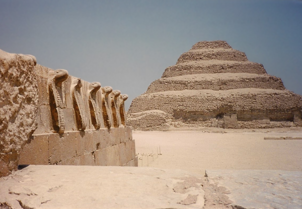 The Step Pyramid of Djoser from the Southern Tomb