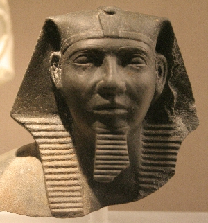 Pharaoh Khafre (courtesy of Wikimedia Commons)
