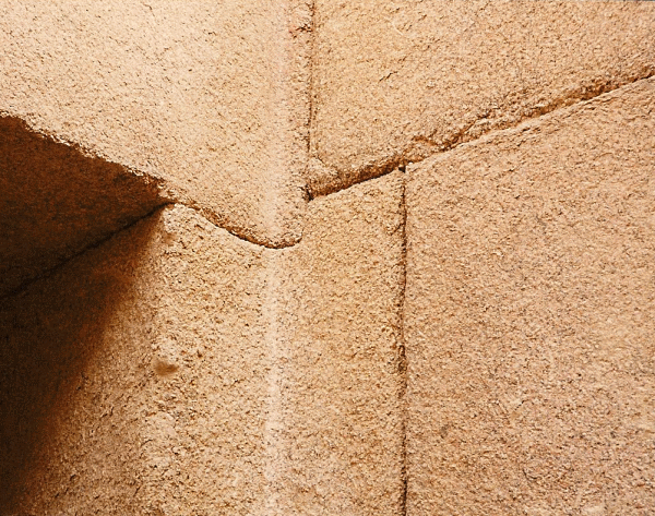 Remarkable engineering has kept the mortar-free facing in place for millennia