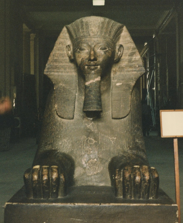 The Sphinx of Queen Hatshepsut (Photo by Keith Payne)