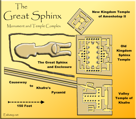 The Great Sphinx What We Know What We Think We Know What We - Map of egypt pyramids and sphinx