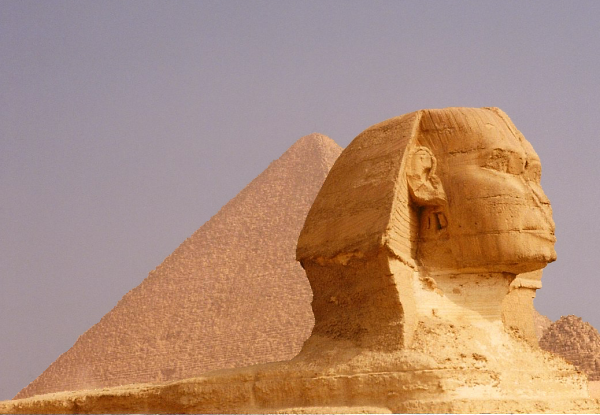 The Great Sphinx will always withhold some of his secrets for himself (Photo by Keith Payne)