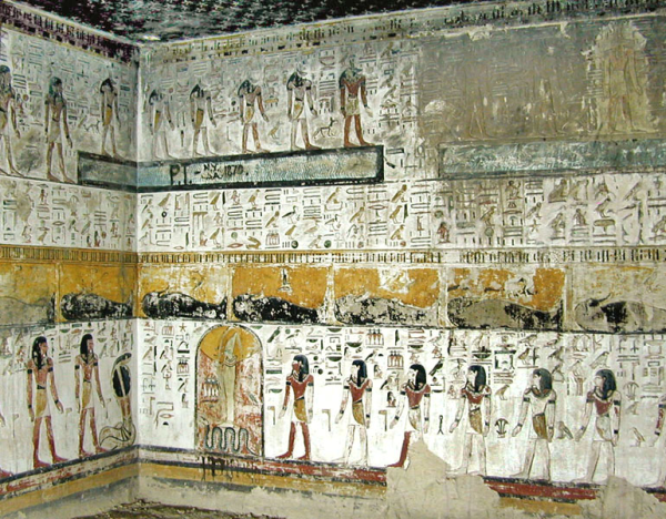 The tomb of Seti I (KV17) is the largest discovered in the Valley of the Kings to date (Photo by Jean-Pierre Dalbera)