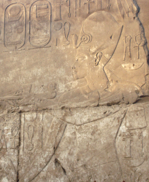 A relief of Tutankhamun at Luxor Temple (Photo by Crucifixion)
