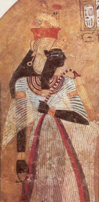 Ahmose-Nefertari—First New Kingdom God's Wife of Amun and possibly the most powerful woman in human history up to that point.