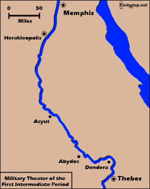 The Rise Of Thebes The Rise Of Amun - Map of egypt thebes