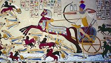 Ahmose defeating the Hyksos