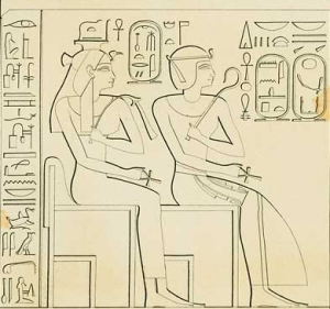 The future of the dynasty--Ahmose Nefertari and Amenhotep I