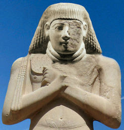 Pharaoh Pinedjem I (Photo by Lamerie)