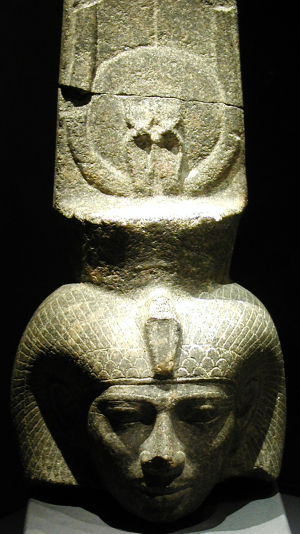 Shepenwepet II, the Nubian God's Wife when Thebes surrendered to Psamtik I (Photo by Néfermaât)