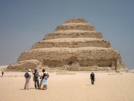 The Step Pyramid of Djoser (Photo by Keith Payne)