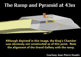 ramp and pyramid at 43m
