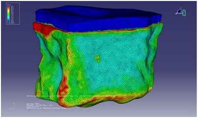 "Simulation of the melting of an iceberg—""Our world needs innovation to solve the major challenges it faces"" (Quote: Mehdi Tayoubi, courtesy of Dassault Systèmes)"