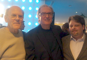 Left to right: Marc Chartier, Jean-Pierre Houdin, Keith Payne