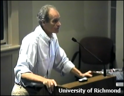 Bob Brier (Courtesy of University of Richmond)