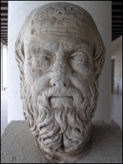 Herodotus—Greek historian and early authority on mummification (Photo by Marsyas)