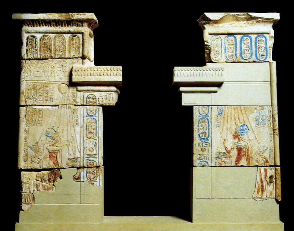006 - yvonne12 - Shrine facade Amarna