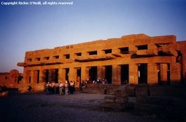 The Festival Hall of Thutmose III (photo by Richie O'Neil)