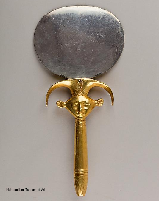 Mirror with Hathor handle (Yvonne Buskens, contrib.)