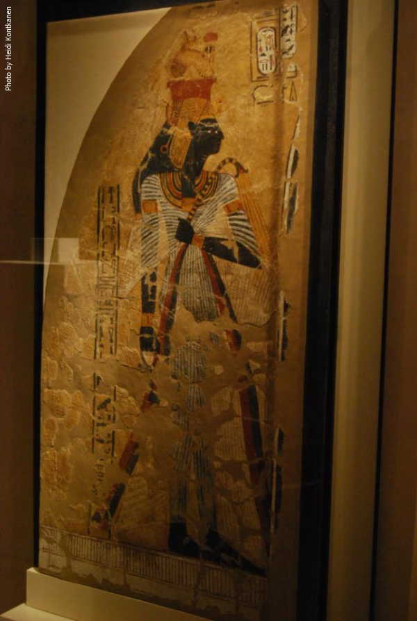 Ahmose-Nefertari, mother of a dynasty (Photo by Heidi Kontkanen)