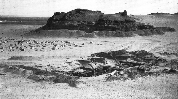 In for a penny, in for a pound Reisner knew that once he began excavating a site, there was no turning back.  Excavating Menkaure's Valley Temple, February 9, 1910 (Giza Archives Project A 329)