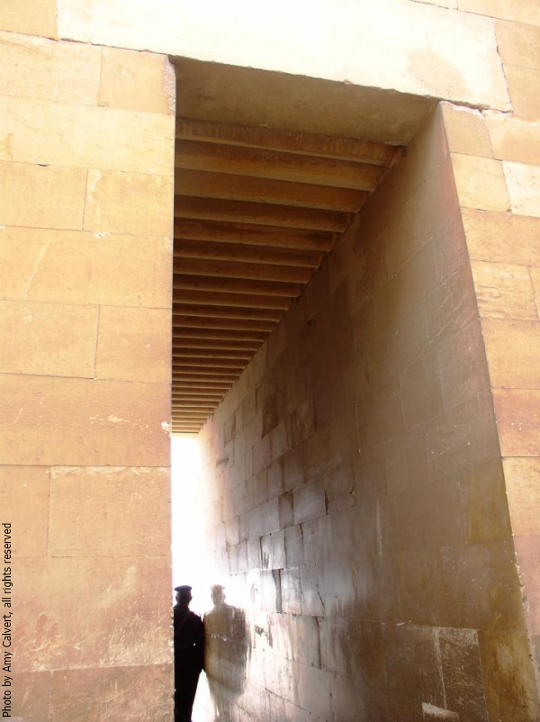 South entrance to Djoser's complex (Photo by Amy Calvert)