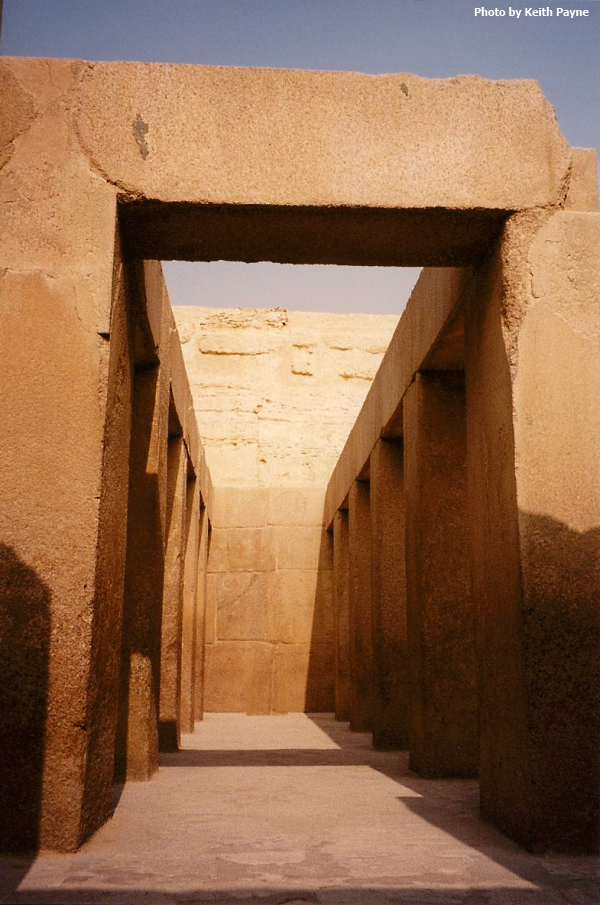 013 - 018—Khafre's Valley Temple (Photo by Keith Payne)