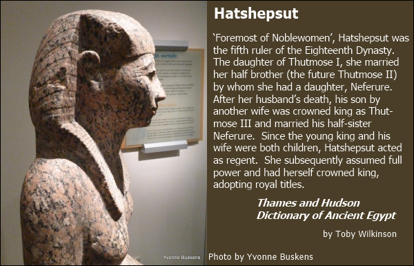 a biography and life of queen hatshepsut of egypt National geographic stories take you on a journey that's always enlightening, often surprising, and unfailingly fascinating this month—the she-king of egypt.