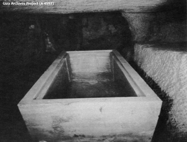 Hetephers' empty alabaster coffin—an anticlimactic end to an incredible discovery (Giza Archives Project A 4597)