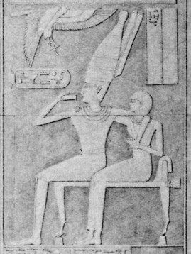 Mentuhotep and wife (Carolyn Graves-Brown, contrib.)