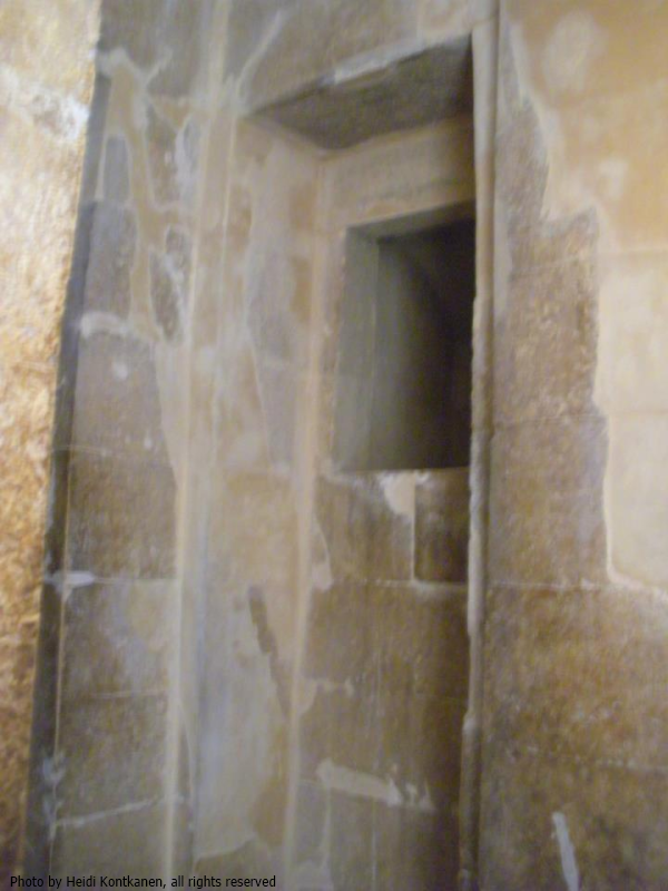 Niche inside the House of the South (Photo by Heidi Kontkanen)