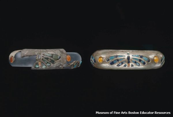 The Butterfly bracelets (Museum of Fine Arts Boston Educator Resources)