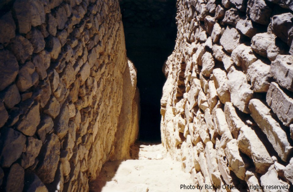 The Entrance to Djoser's Step Pyramid (Photo by Richie O'Neill)