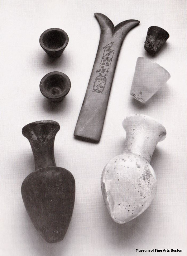 Magical tools including the Wand of Khufu from Menkaure's Valley Temple (Richie O'Neill, contrib.)