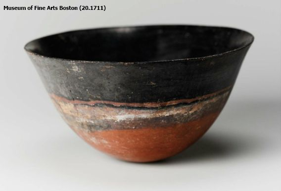 Nubian (Kerma) black-topped bowl (Museum of Fine Arts Boston 20.1711)