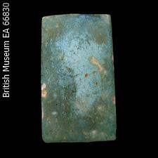 Faience tile from the Step Pyramid of Djoser (Yvonne Buskens, contrib.)